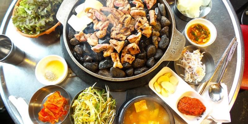 【韓國必吃美食】弘大\돼지저금통小豬存錢桶(石頭烤肉),愛玩客也介紹過的哦!