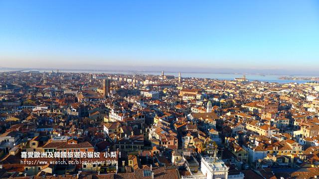【義大利】:12/12Day5(下):威尼斯(名牌精品買翻天、鐘樓登頂之絕美威尼斯一覽無遺)→維諾納