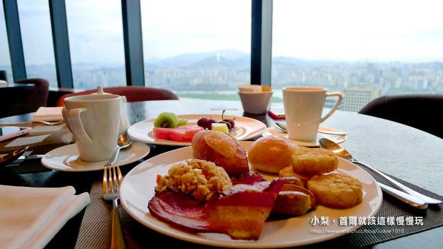 【韓國住宿】爆高檔汝矣島Conrad Seoul Hotel康拉德首爾飯店(37樓Executive Lounge篇)~6:30~23:00都可以去免費吃吃喝喝哦!