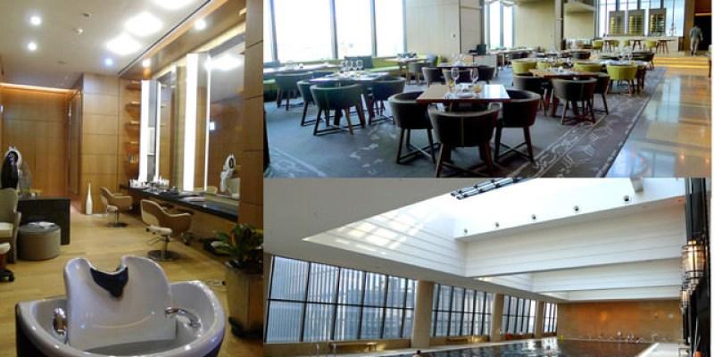 【韓國住宿】爆高檔汝矣島Conrad Seoul Hotel康拉德首爾飯店(設施篇)~游泳池、健身房及高爾夫球練習房隨你使用,且地下通道安全又方便!