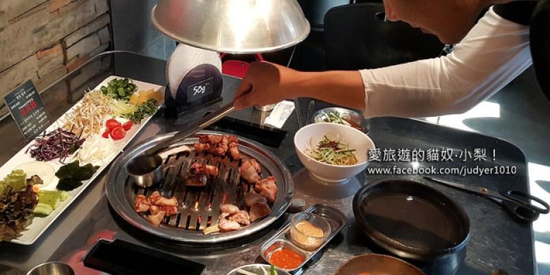 【韓國弘大美食】50g烤肉오십그램,獨家用越南春捲皮包蔬菜+烤肉+花生醬的新奇口感,好吃又健康!