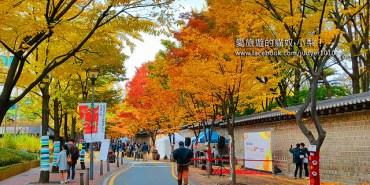 【韓國秋季必去景點】市廰站\德壽宮(貞洞)石牆路덕수궁돌담길,秋天的景色美炸了,你千萬不能錯過啊!