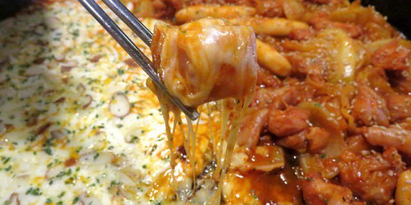 【韓國美食】빤닭빤닭 닭갈비起司辣炒雞排\弘大上水,100%牛奶製成的起司,跟辣炒雞排一起吃,美味得讓人飛上天啦!