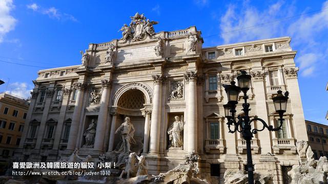 【義大利】:12/14Day7:米蘭→羅馬(許願池、西班牙台階、羅馬大血拼)