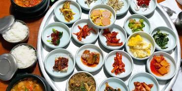 【釜山必吃美食】西面站\全州食堂,韓式滿漢全席,一個人就能享用的美味家常料理!