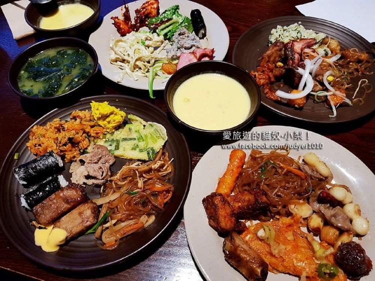 弘大美食\自然別曲,好吃的韓式料理自助餐吃到飽!