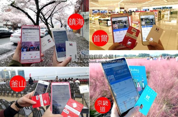 韓國上網SIM卡推薦\KT韓國4G無限上網吃到飽SIM卡,韓國上網一張SIM卡就搞定!(適用1~2人)
