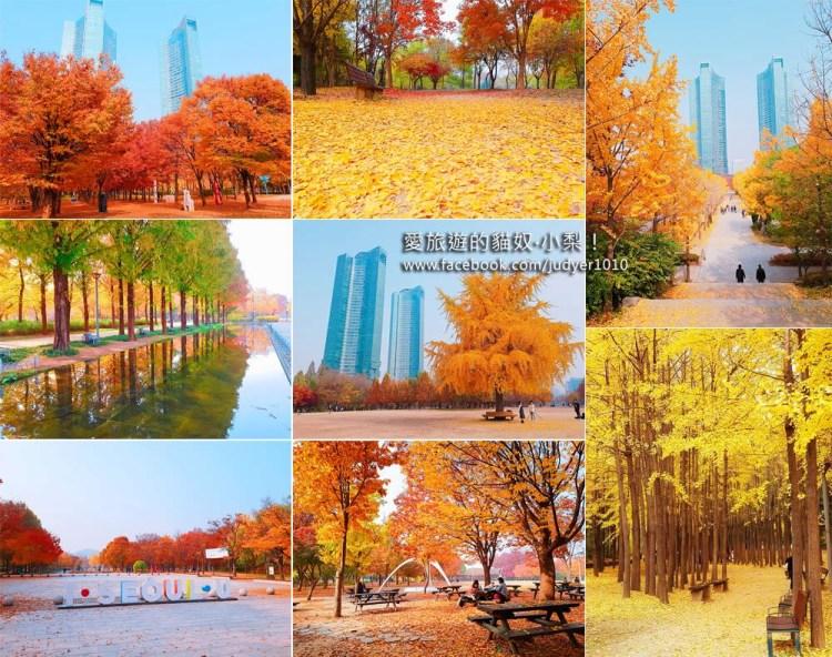 韓國首爾賞楓\首爾林서울숲,清楚地圖、照片路線帶你去!