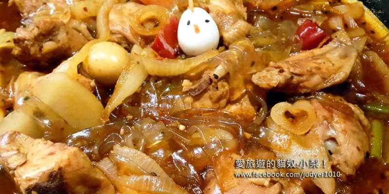 【韓國必吃美食】新村站\大砲燉雞대포찜닭,雞肉超嫩、冬粉超入味,讚啦!