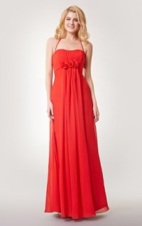 Red & Coral Bridesmaid Dress | All Color Available - June ...