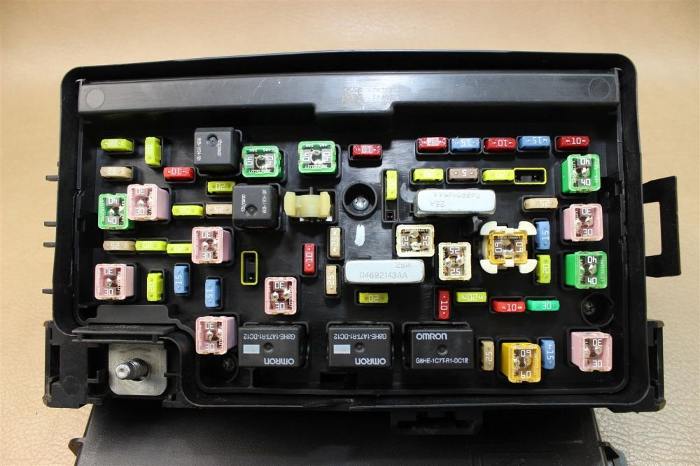 medium resolution of 09 ram 1500 5 7l 4 7l fuse box tipm totally integrated power module 04692123af does