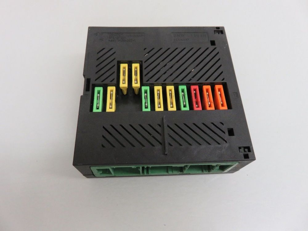 medium resolution of 04 07 bmw e60 545i 550i integrated power supply module fuse box oem 1394370