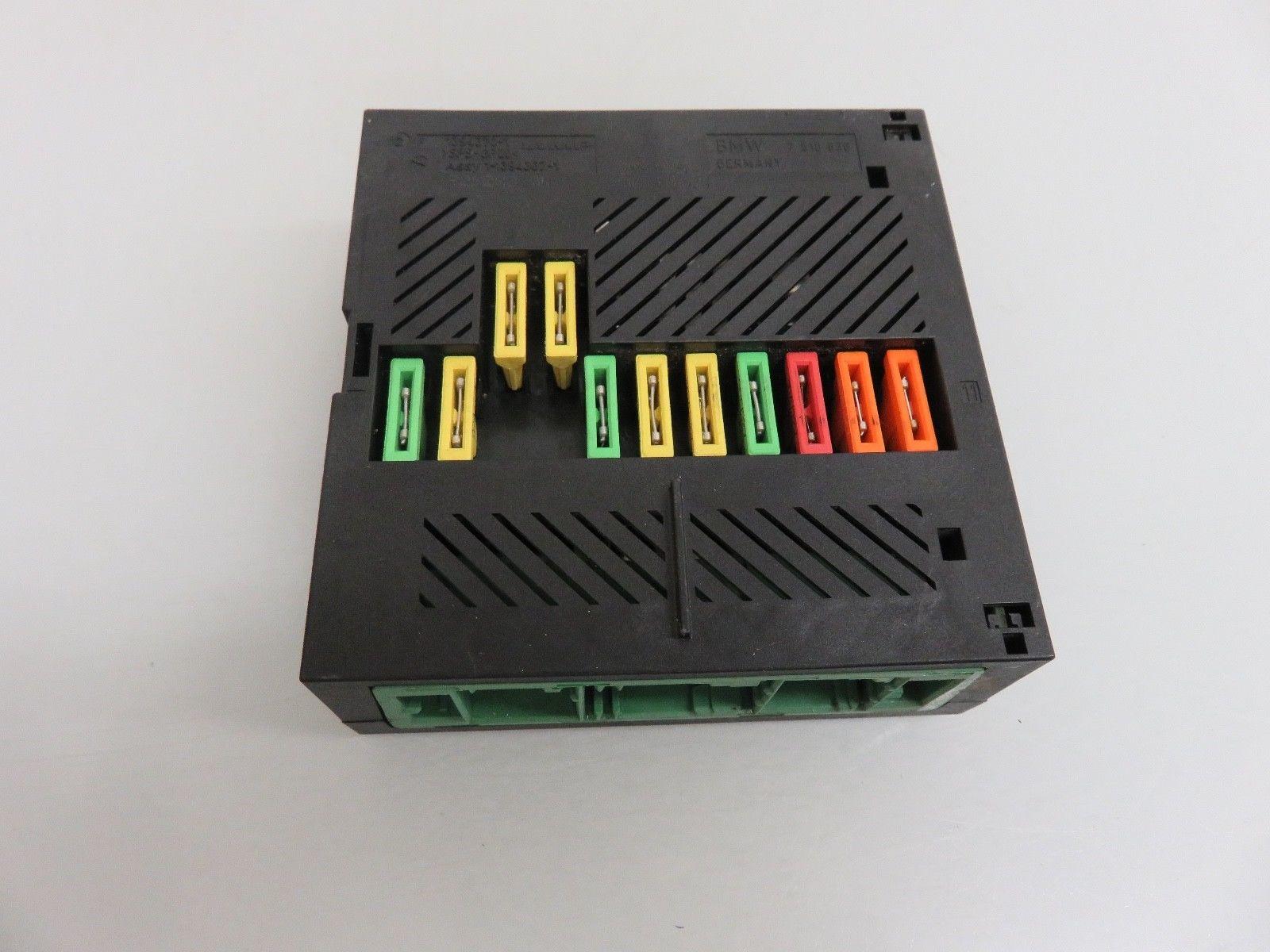 hight resolution of 04 07 bmw e60 545i 550i integrated power supply module fuse box oem 1394370