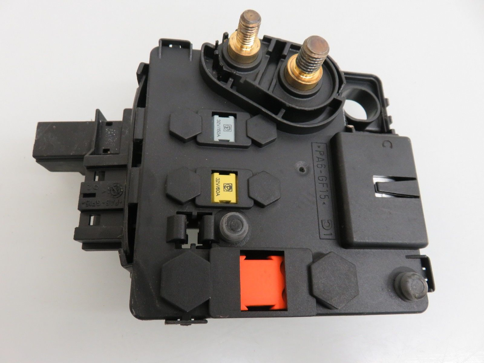 hight resolution of 00 06 mercedes benz w220 w215 cl500 s500 s430 battery cable connector fuse block