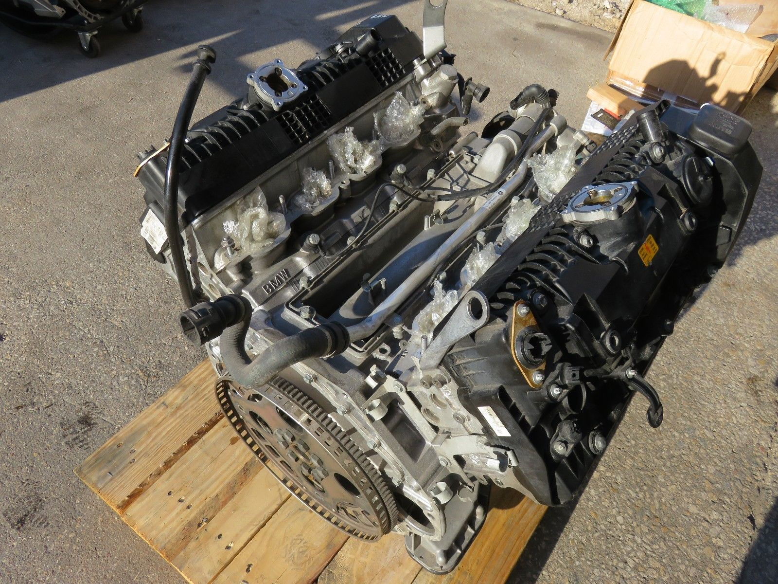hight resolution of 2006 2008 bmw e65 e66 750 4 8l 8cyl engine motor 118k miles tested warranty