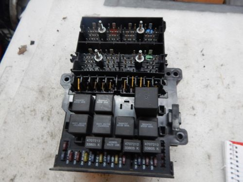 small resolution of 1996 caravan town country body control module bcm w fuse box 4612800