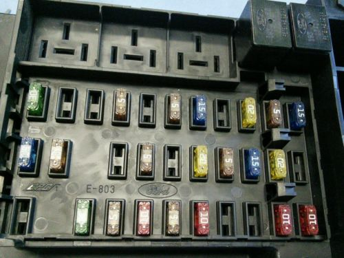 2000 Ford F150 Fuse Box Diagram Image Details