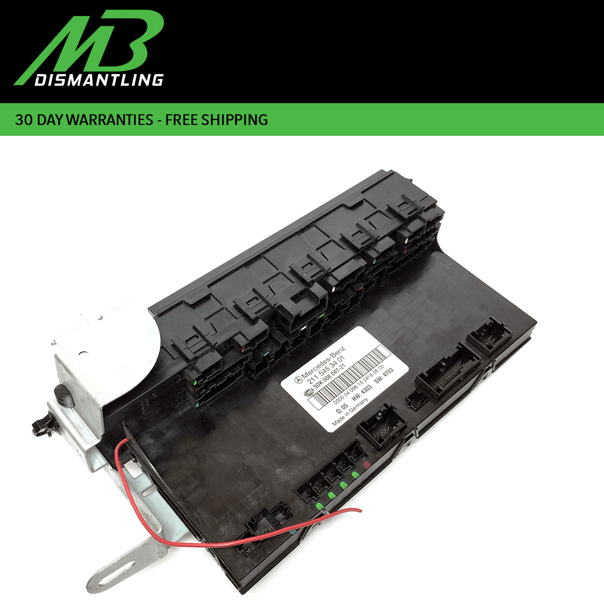hight resolution of mercedes w211 e500 cls550 rear trunk fuse box sam relay