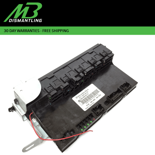 small resolution of mercedes w211 e500 cls550 rear trunk fuse box sam relay