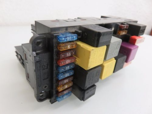 small resolution of 03 09 mercedes w209 clk500 front sam module fuse box relay oem a 209 545