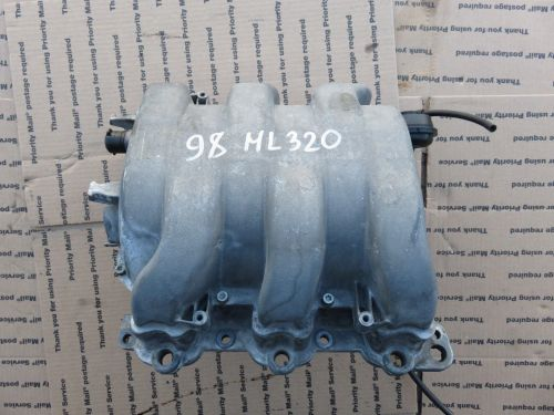 small resolution of 98 03 mercedes benz w163 ml320 m112 e32 engine air intake manifold oem a1121402101