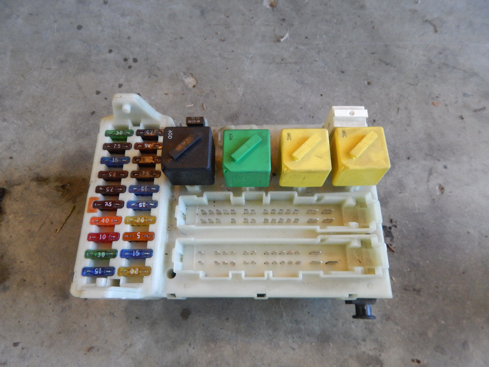 hight resolution of 1997 97 ford contour fuse box with central timer unit 94bg 14k150 ae 94bg