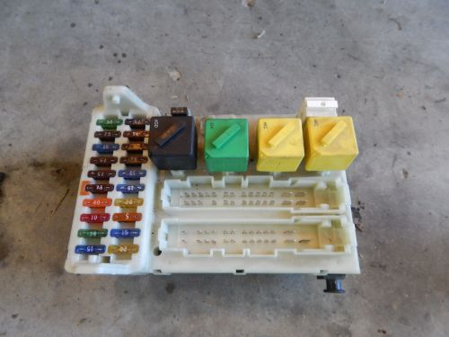 small resolution of 1997 97 ford contour fuse box with central timer unit 94bg 14k150 ae 94bg