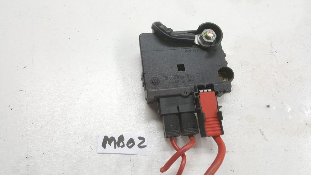 medium resolution of 00 06 mercedes w220 s430 em s500 em trunk junction