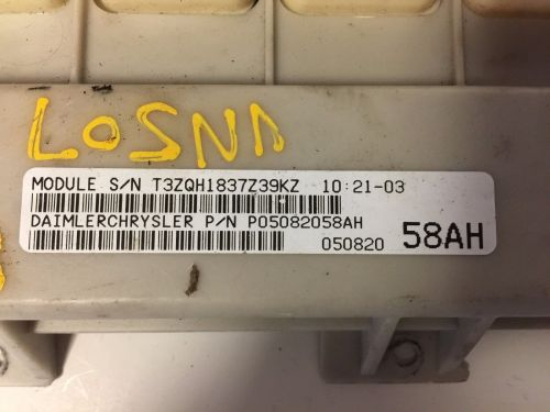 small resolution of 2008 chrysler pacifica bcm body control module oem p05082058ah p05082058ah