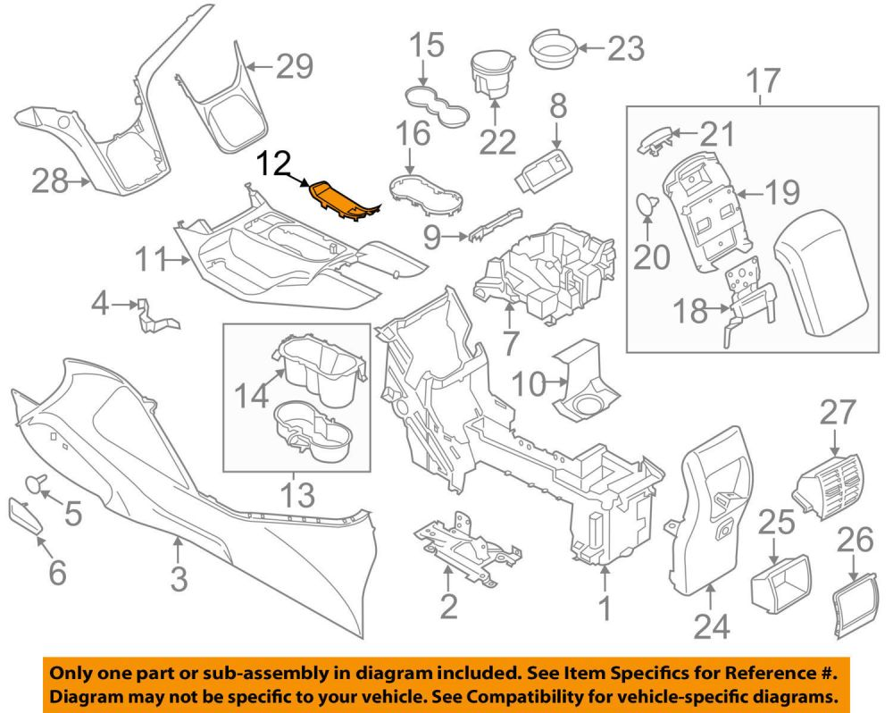 medium resolution of new oem 13 16 em ford em escape em