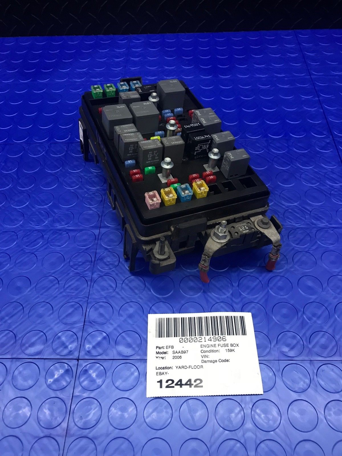 hight resolution of gm saab 97x 9 7x part wire wiring junction