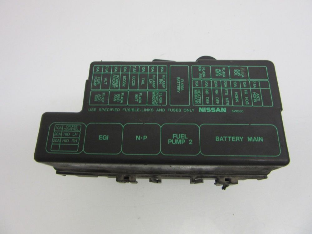 medium resolution of 01 02 03 infiniti qx4 under hood fuse box oem under hood fuse box