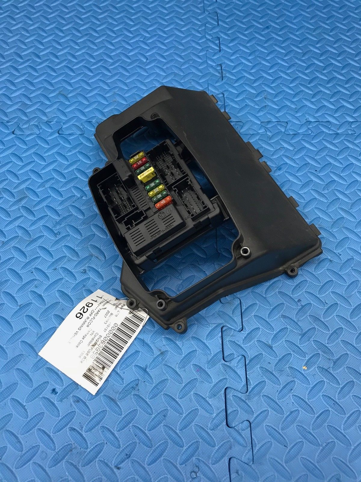 hight resolution of bmw x3 engine relay fuse power distribution junction box module 7 560 626 01 does not