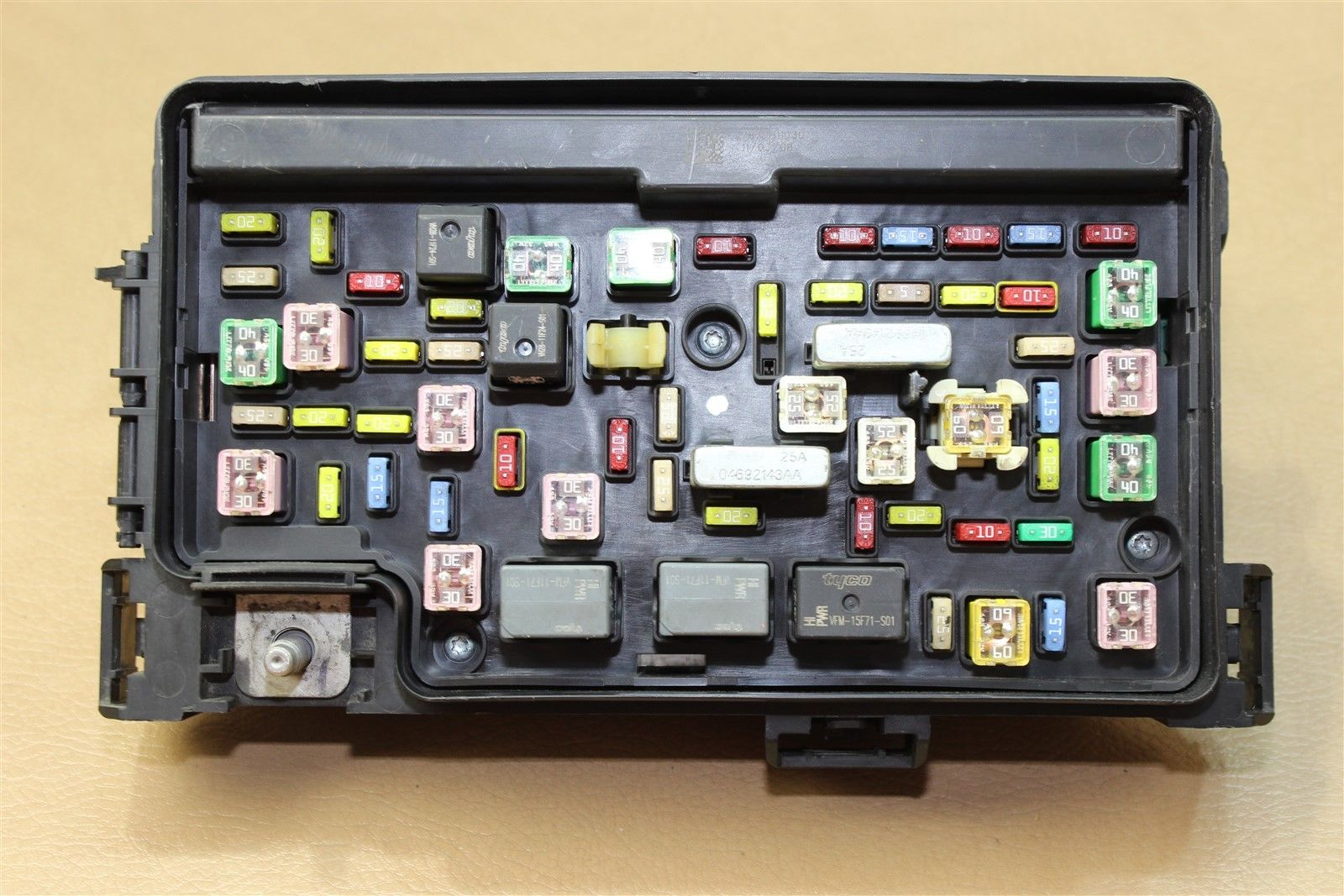 hight resolution of 09 ram 1500 5 7l 4 7l fuse box tipm totally integrated power module 04692123ae does