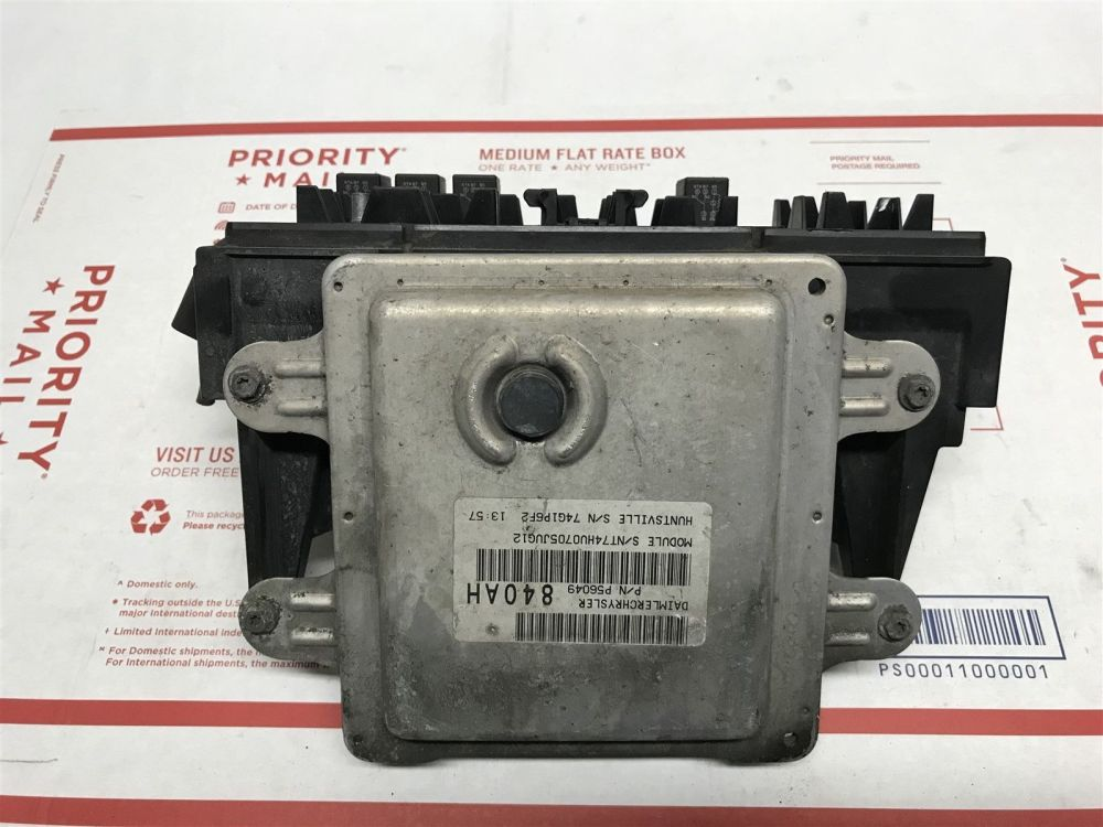 medium resolution of 2004 2005 dodge durango abs control module with fuse box oem 56049840ah does not apply