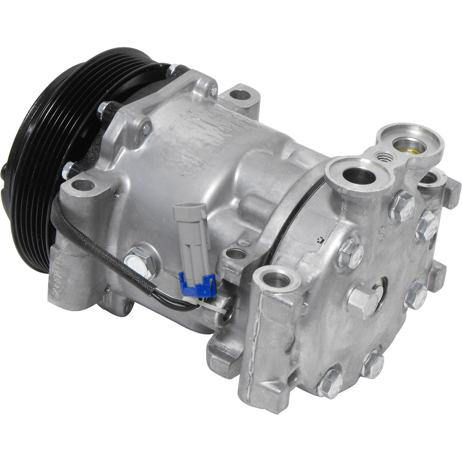 hight resolution of new ac compressor and clutch 1996 1999 chevy gmc pickup suburban tahoe 5 0 5 7