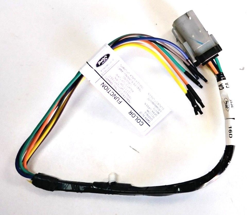 hight resolution of new oem ford f250 f350 f450 f550 trailer hitch wiring harness 02 04 2c3z13a576ca 2c3z