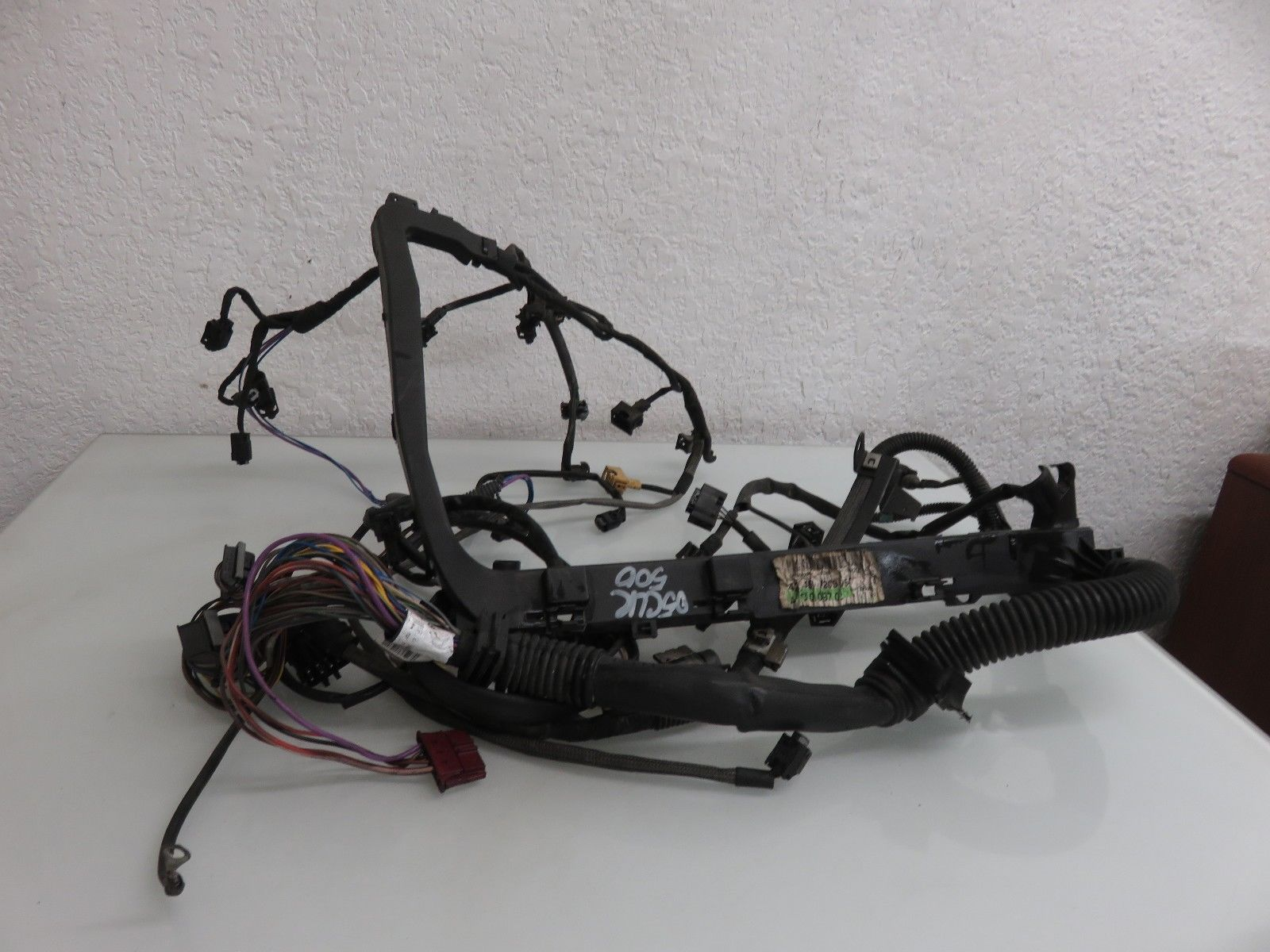 hight resolution of 03 06 mercedes benz w209 clk500 engine motor wire wiring harness oem a2095404810 a1130109702