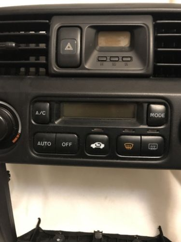 1998 1999 2000 Honda Accord Temperature Climate Control Heater Ac