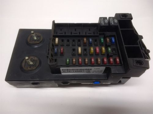 small resolution of 99 03 ford f150 f250 dash fuse box relay junction module with gem xl34