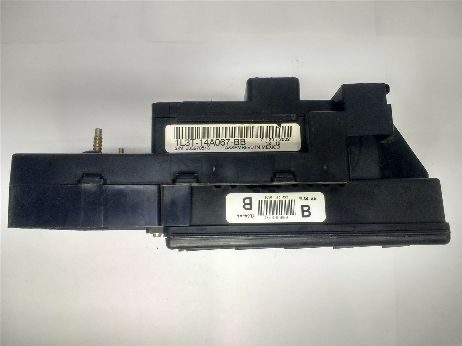 hight resolution of 2001 ford f150 interior dash fuse box junction relay box with gem 1l3t 14a067