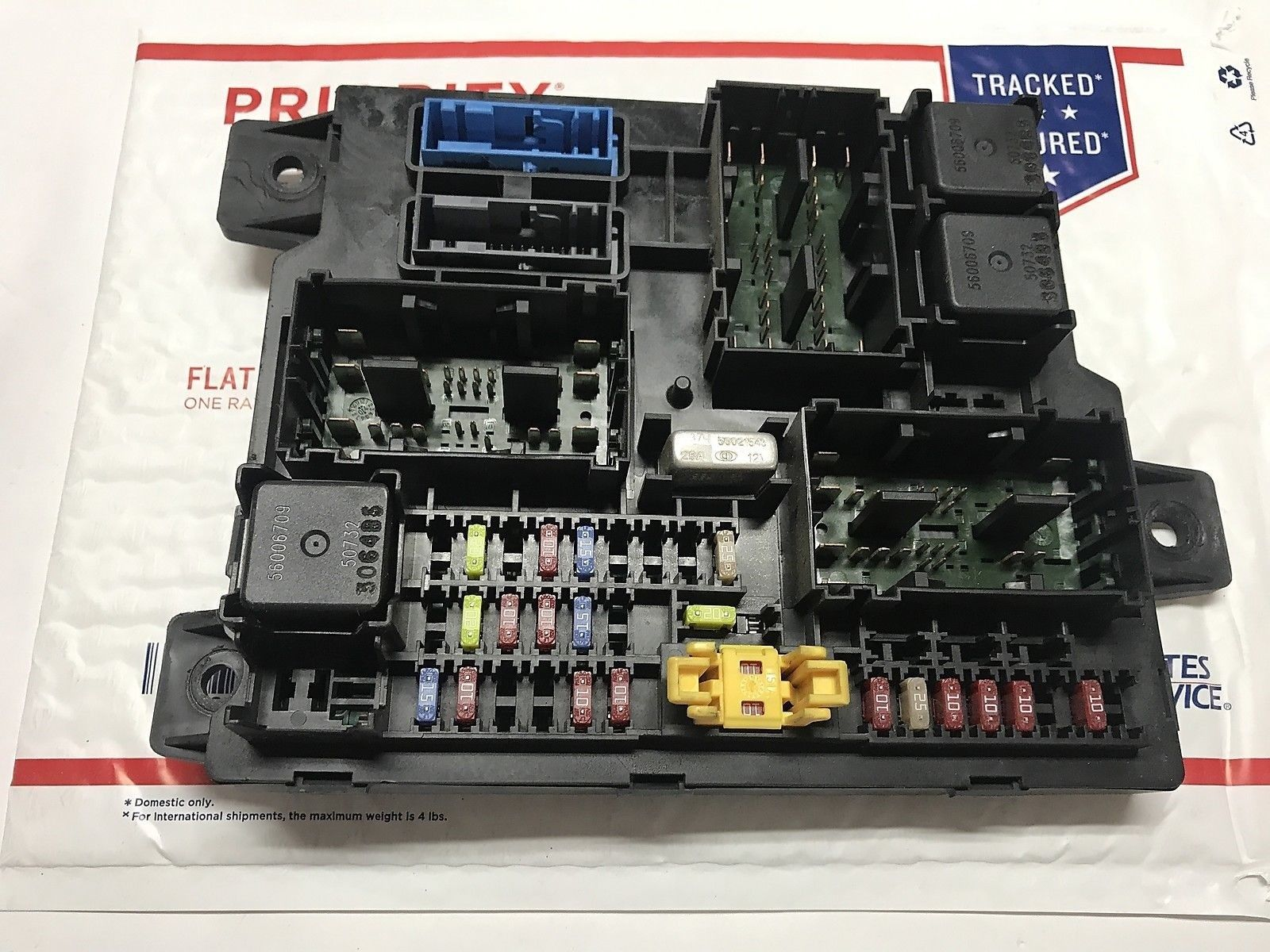 hight resolution of 04 06 dodge durango cabin fuse box multifunction relay junction oem 56049173af does not apply