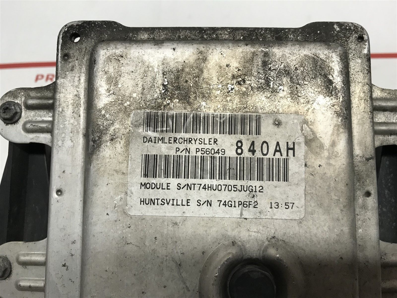 hight resolution of 2004 2005 dodge durango abs control module with fuse box oem 56049840ah does not apply