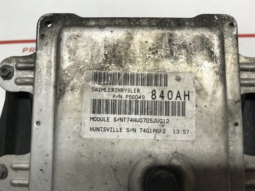 small resolution of 2004 2005 dodge durango abs control module with fuse box oem 56049840ah does not apply