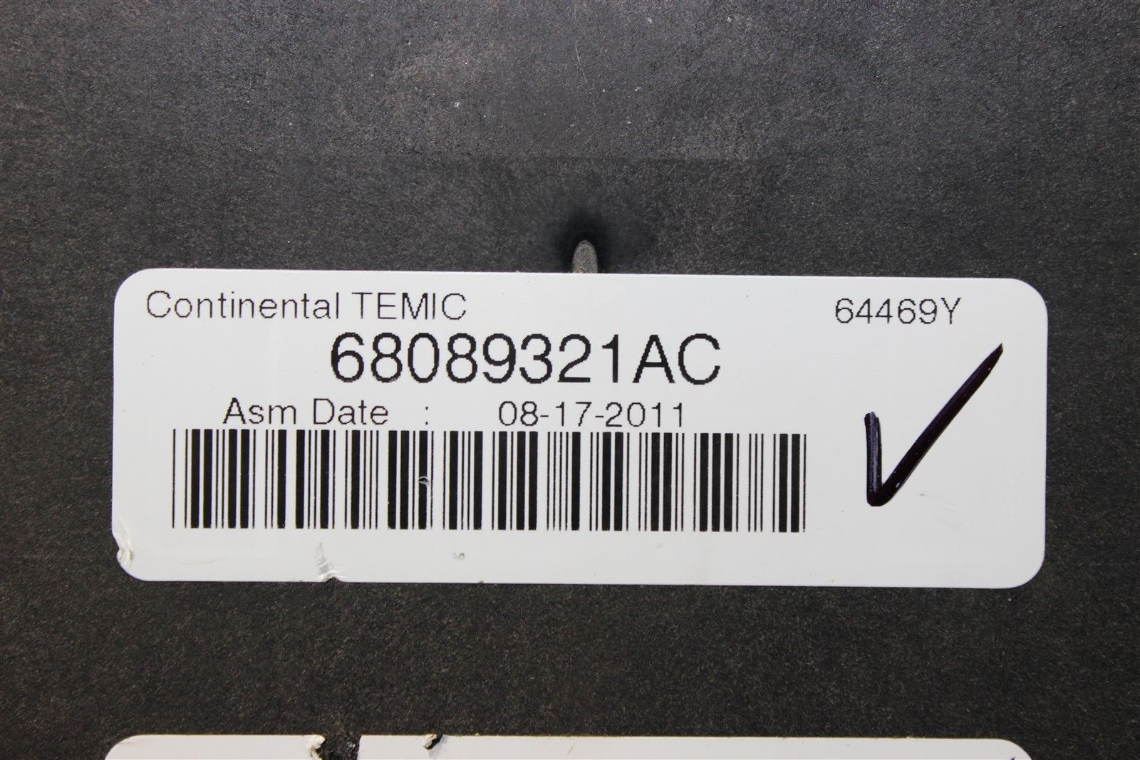 hight resolution of reman 12 durango grand cherokee tipm temic integrated fuse box module 68089321ac does not apply 1981