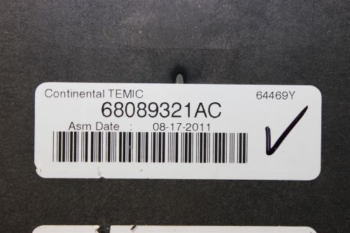 small resolution of reman 12 durango grand cherokee tipm temic integrated fuse box module 68089321ac does not apply 1981