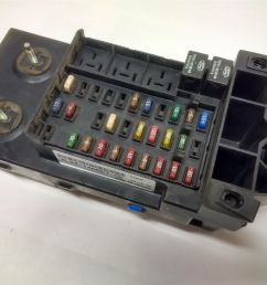 99 03 ford f150 f250 dash fuse box relay junction module with gem xl34  [ 1600 x 1200 Pixel ]