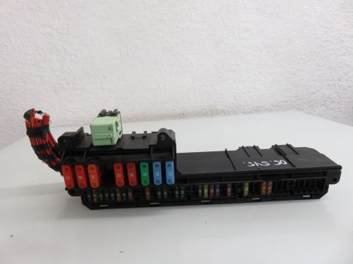 small resolution of 04 07 bmw e60 545i 550i front power distribution fuse box 6932452 oem 6932452