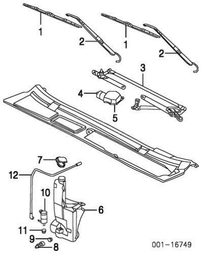1997 Dodge Caravan Windshield Wiper Wiring Diagram