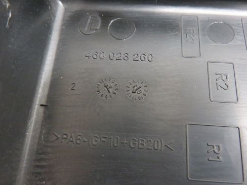 small resolution of 03 07 saab 9 3 93 electrical main fuse box cover map oem 460